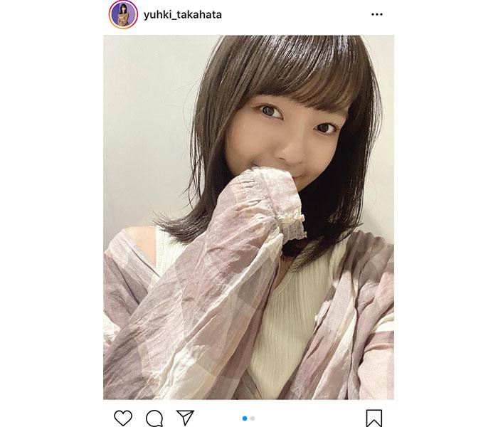 """SKE48 高畑結希、""""萌え袖""""の季節にキュン!「はたごんのすべてがかわいい」"""
