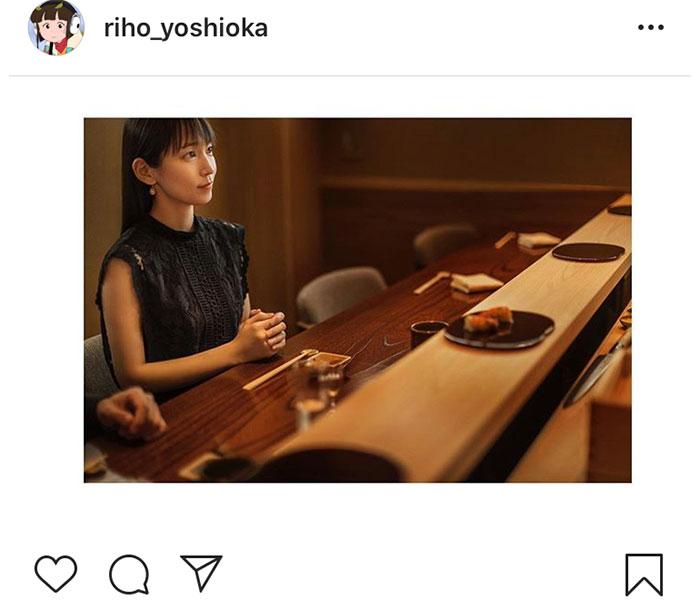 吉岡里帆、「イカ…また食べたい」。「東京カレンダー」撮影エピソードを明かす