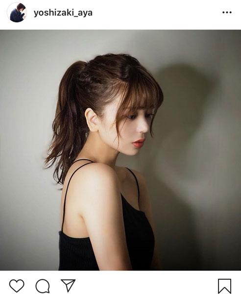 吉崎綾、キャミソール姿であらわの素肌に「罪深い美しさ」「圧倒的な美」と歓喜の声