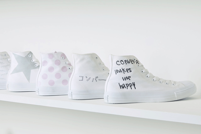「White atelier BY CONVERSE(ホワイトアトリエバイコンバース)期間限定で大阪「ルクアイーレ」にてPOP UP STORE開催
