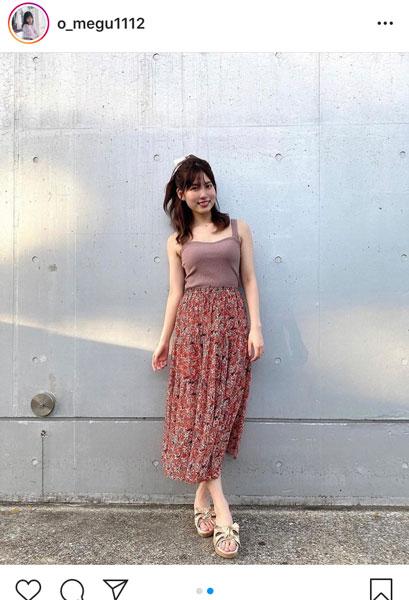 AKB48 谷口めぐ、オフショルのトップスコーデを紹介「テーマは『太陽の女神』」