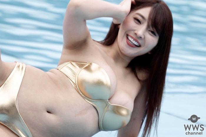 森咲智美、純白素肌全開の手ブラショットに反響!「これはすごい」「たまらない」
