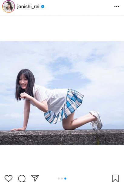NMB48 上西怜、夢を叶えた待望の写真集発売に喜びの声!「待ってました!」「めっちゃ嬉しいよ」