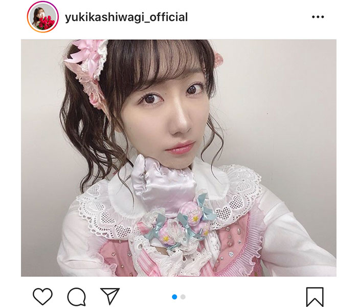 "AKB48 柏木由紀、全身で""アイドル""を極めたYouTube動画が話題!"