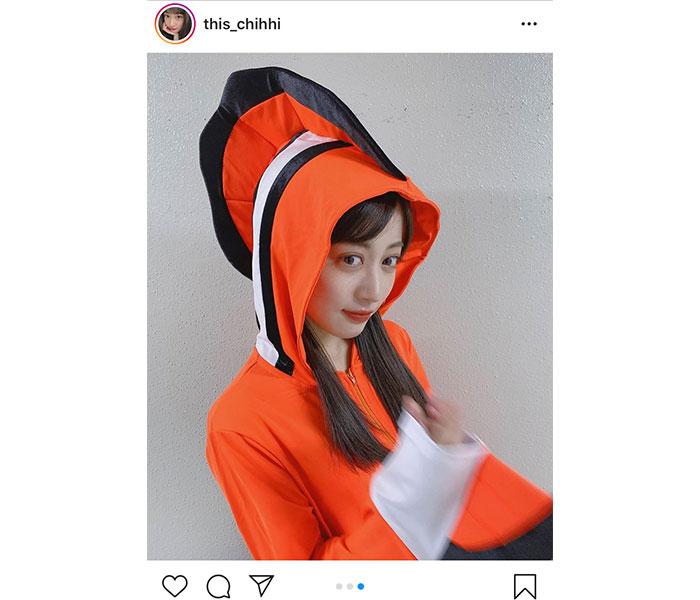 """NMB48 川上千尋、""""クセ""""のあるキュートなコスプレに驚嘆!「インパクトすごい」"""