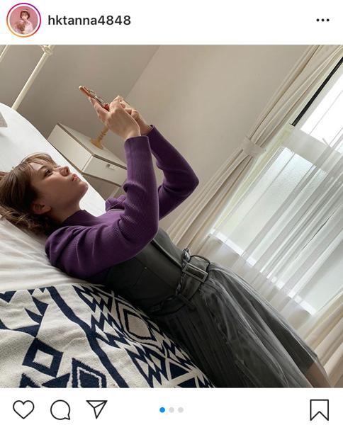 """HKT48 村重杏奈、お気に入りメイクで""""アゲシゲ""""な自撮りムービー公開!「可愛すぎてびびった!」"""