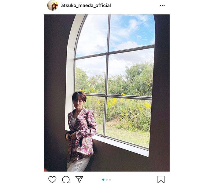 前田敦子、2021年カレンダーの撮影オフショット公開「最高のロケーションでした」