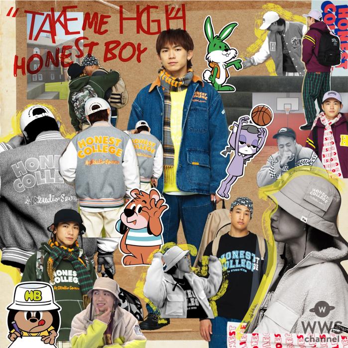 EXILE NAOTO、ソロ名義「HONEST BOY」の最新作『TAKE ME HIGH』が配信開始!