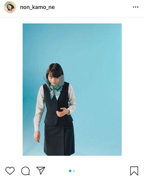 のん、イメージモデルを務める岩手銀行の制服姿に感動!「岩手愛感じます!!」