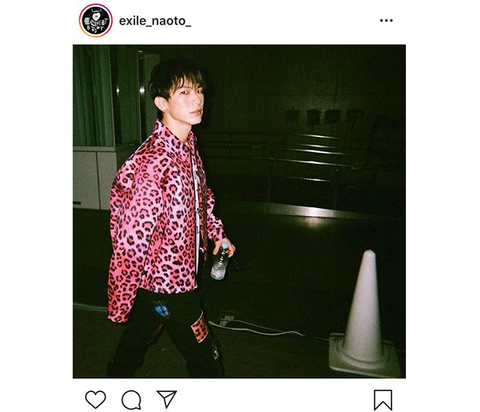 三代目 J SOUL BROTHERS NAOTOのピンクヒョウ柄に反響!「かわいすぎる」「新鮮で素敵」