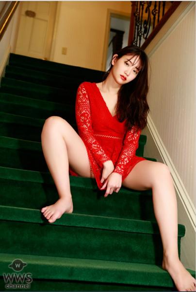 永尾まりや、大人の魅惑で見せつけるセーラー服&ランジェリー!「大人になる階段のリアルさや風景を見て」