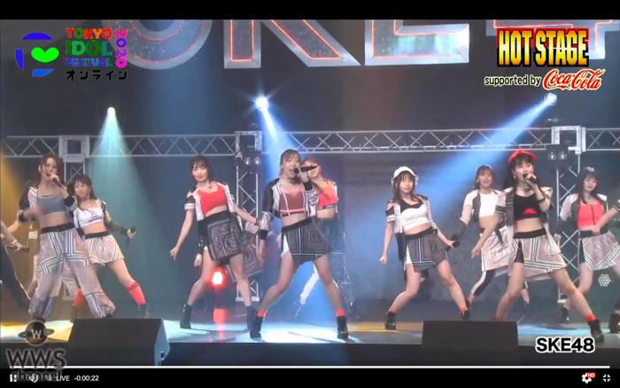 【ライブレポート】SKE48が地元・愛知で開催中の結成12周年イベント会場から生中継で出演!<TIFオンライン2020>