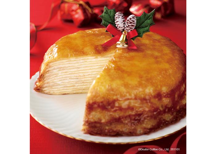 ドトールクリスマスミルクレープ