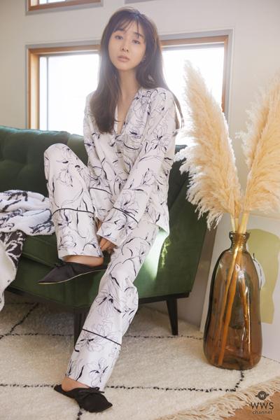 SNIDEL HOME田中みな実が魅せる「#美容パジャマ」
