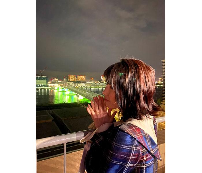 AKB48・横山由依からお疲れ様ショット! 「また明日も頑張れるような気がします」「ゆいはんもおつかれさまでした」