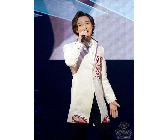 山内惠介、念願の日本武道館でデビュー20周年記念リサイタル全26曲熱唱!