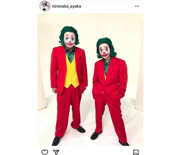 弘中綾香アナウンサー、衝撃の「ジョーカー」コスプレに「とっても光栄でした」