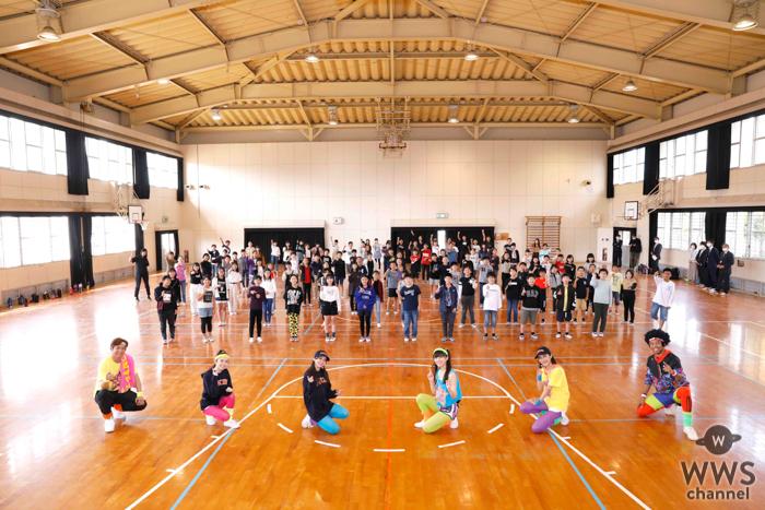 EXILE 黒木啓司、NESMITH、Girls²が小学6年生に向けてダンス授業を開講!