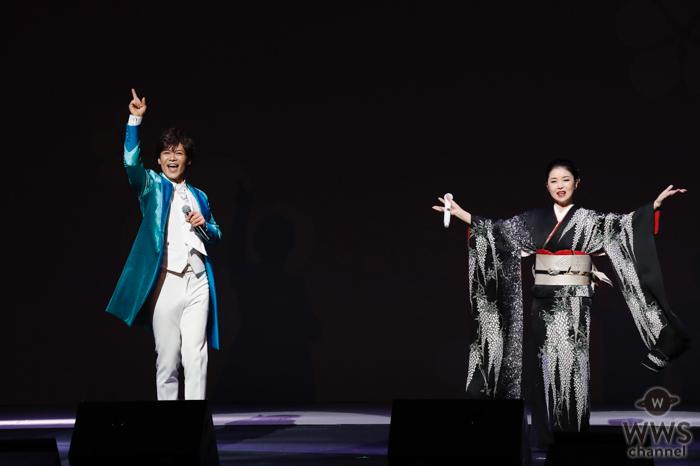 新浜レオン、藤あや子のコンサートで待望の共演!