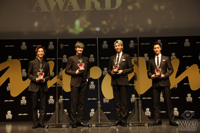 SixTONES、Snow Manが「ananAWARD」で大賞受賞!「デビュー年に賞を頂いて運命を感じています」
