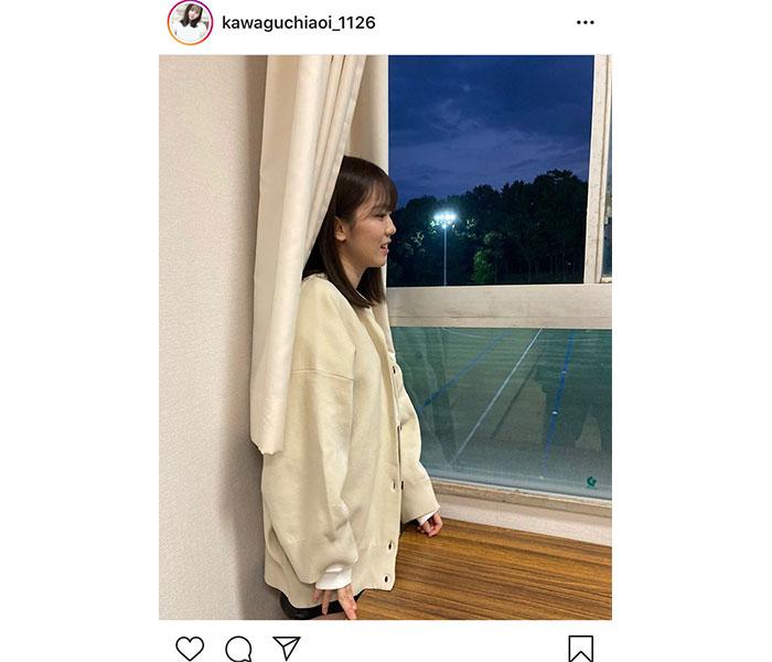 『ボンビーガール』川口葵、初々しい制服カーディガン姿に「きゅんきゅんしまくりでした」!