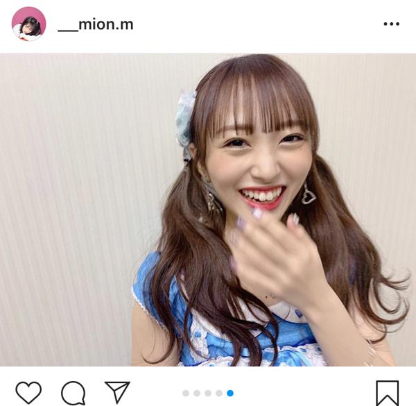 AKB48 向井地美音、伝説の研究生衣装に興奮!「いっぱい写真撮っちゃった」