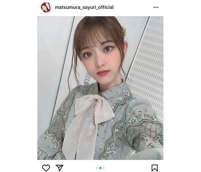 乃木坂46 松村沙友理、「お姫様みたい」な新曲ミニワンピース衣装に感想ぞくぞく!