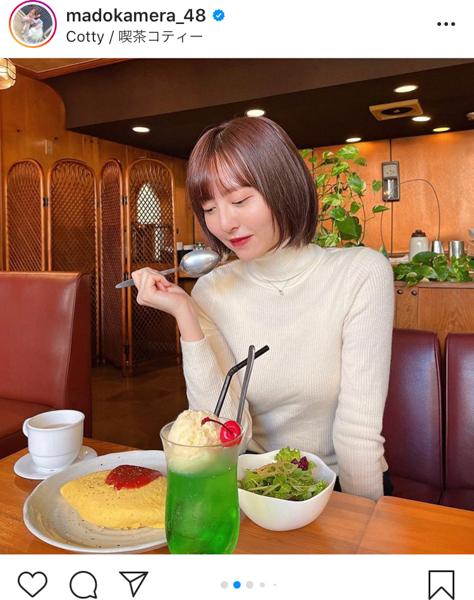 HKT48 森保まどかと喫茶店でカフェデート気分!「喫茶店行きたくなってくる」