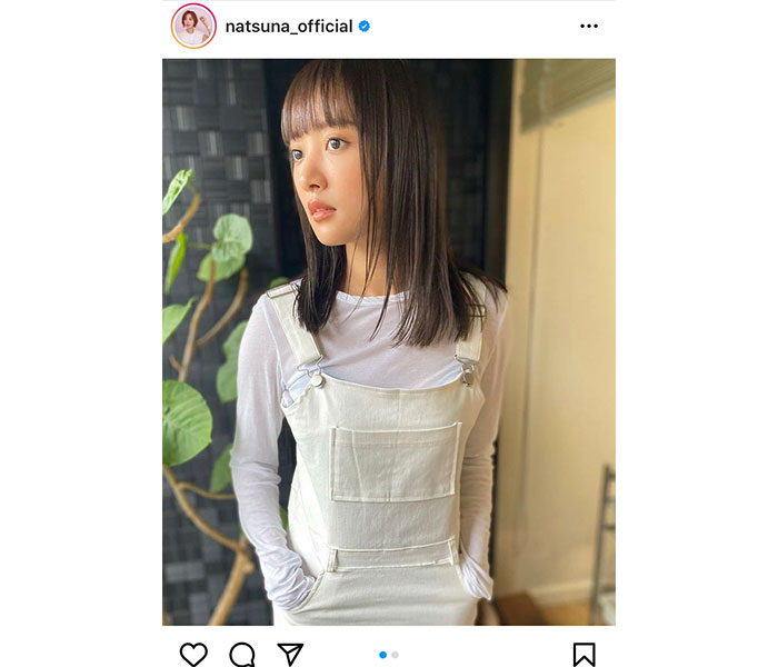"""夏菜、前髪""""ぱっつん""""ヘアに反響!「リアルクレオパトラ」"""