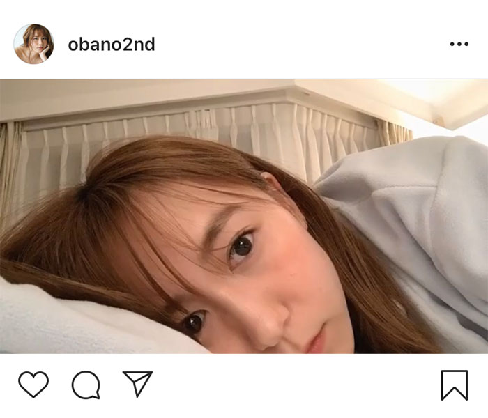"""SKE48 大場美奈、瞬き厳禁の""""添い寝風""""動画に反響!"""