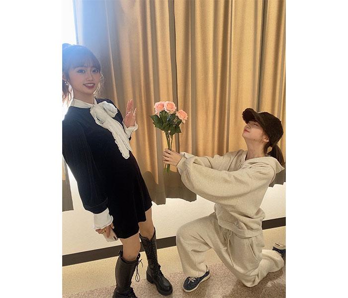 NGT48 荻野由佳、中井りかへプロポーズするも!?「おことわり〜」