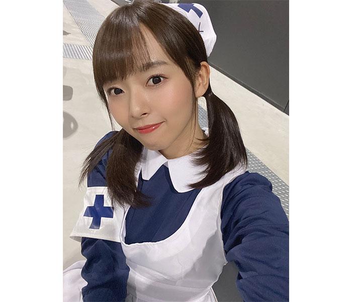 """SKE48 高畑結希の""""ぽんこつナース""""コスプレに通院者続出!「失敗しても許しちゃいそう」"""