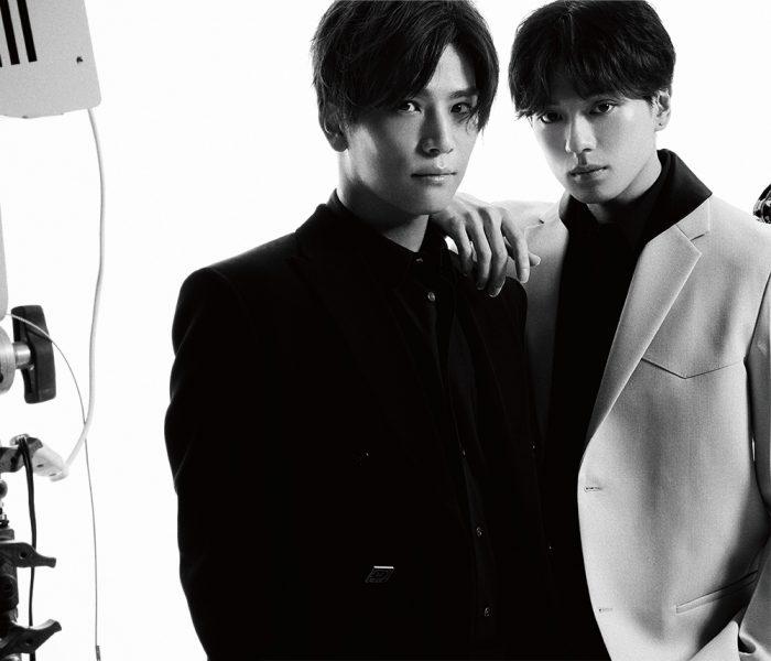 三代目JSB 岩田剛典&新田真剣佑がタッグを組んで『Numero TOKYO』の表紙を飾る!