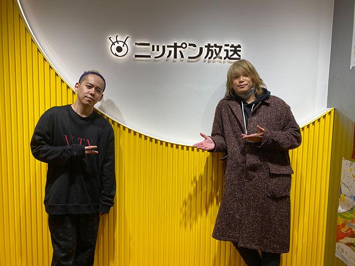 Hey! Say! JUMP髙木雄也 × 清水翔太 ニッポン放送ラジオ番組で初共演!清水翔太生歌唱のサプライズも!