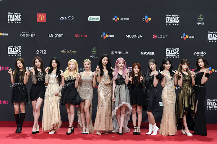 IZ*ONE(아이즈원)が2020 MAMAのレッドカーペットに登場!<2020 Mnet ASIAN MUSIC AWARDS>