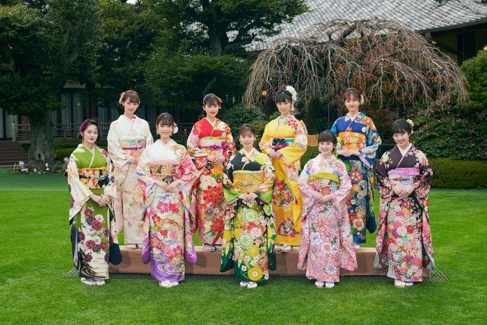 小芝風花、高橋ひかる、宮本茉由らオスカー所属タレントが艶やかな振袖姿を披露!