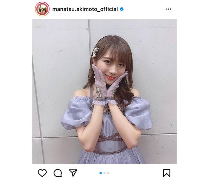 乃木坂46 秋元真夏、レコード大賞で披露した衣装写真を公開