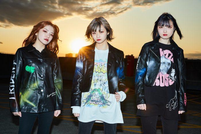 TRiDENT(ex-ガールズロックバンド革命)、待望の新曲『Brand New World』のMVが公開!