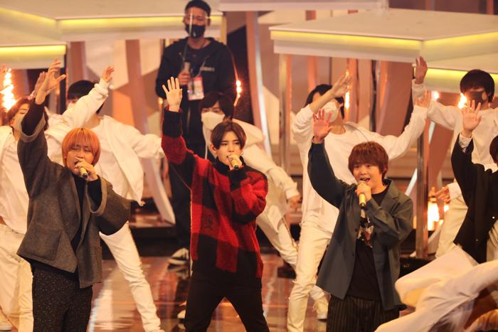 Hey! Say! JUMP、紅白リハーサルに登場 山田涼介、ステージへの想いを語る<第71回NHK紅白歌合戦>