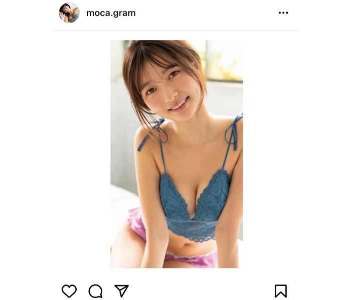 橋本萌花、笑顔と共に魅せるヘルシーグラビア披露!「守りたいこの笑顔」