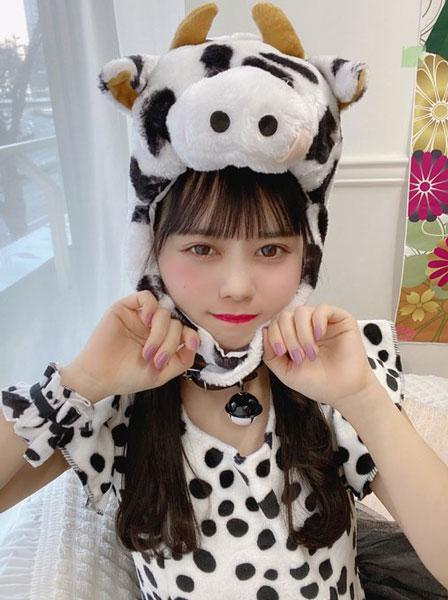 近藤沙瑛子、想像以上の全身牛コーデに感想ぞくぞく!