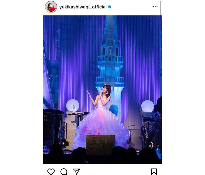 AKB48 柏木由紀、初のディナーショー開催「来年はもっともっと皆さんに会えますように」