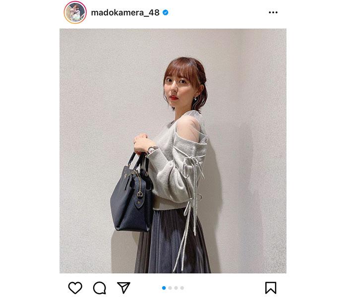 HKT48 森保まどか「おめかしをしました!」上品な大人コーデに「真似したい」と絶賛の声!!