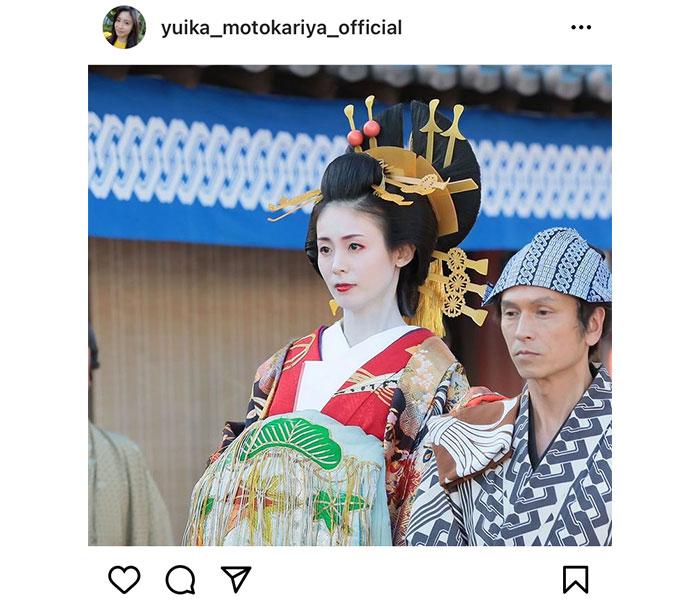 本仮屋ユイカ、「大岡越前スペシャル」スペシャルで初の花魁役に!