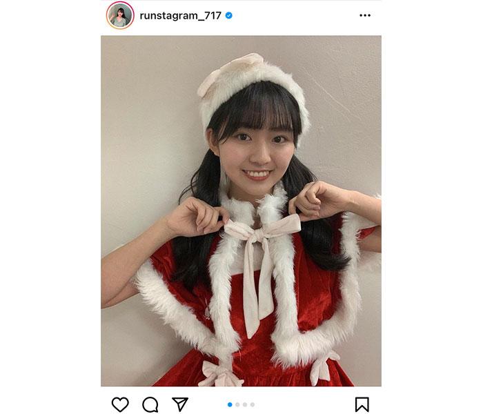 豊田ルナ、サンタクロース衣装を公開と見せかけて・・・?「写真全部見るんだよ」
