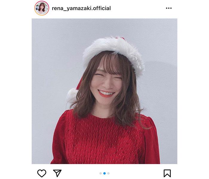 乃木坂46 山崎怜奈、クリスマスイブに届けた癒しの笑顔