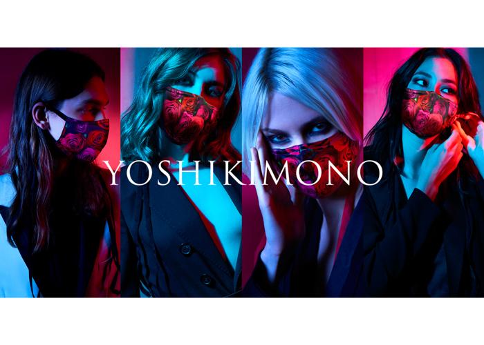 YOSHIKIの着物ブランド「YOSHIKIMONO」から待望のマスクが遂に発売