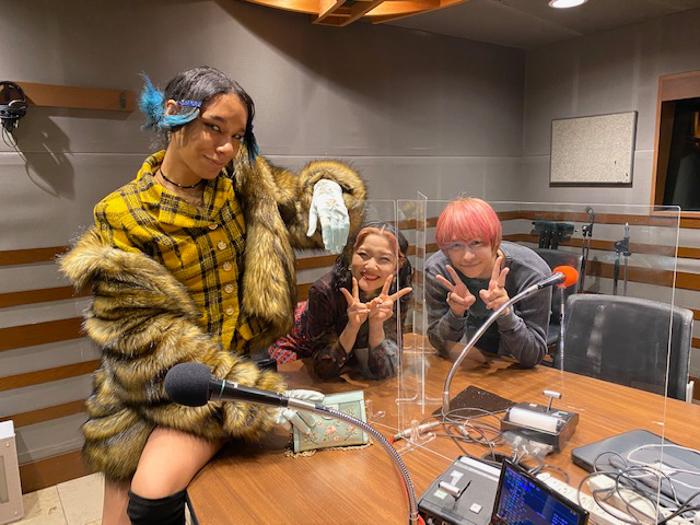 Hey! Say! JUMP 八乙女光、女王蜂アヴちゃん、東京ゲゲゲイ MARIEが深夜ラジオで初共演!