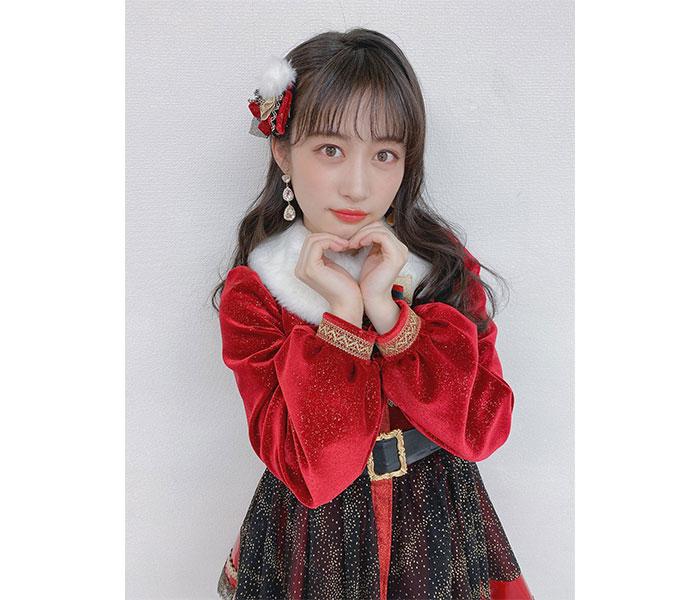 NMB48 川上千尋、可愛すぎるサンタクロース衣装をお届け!「逆にプレゼント渡しちゃう」