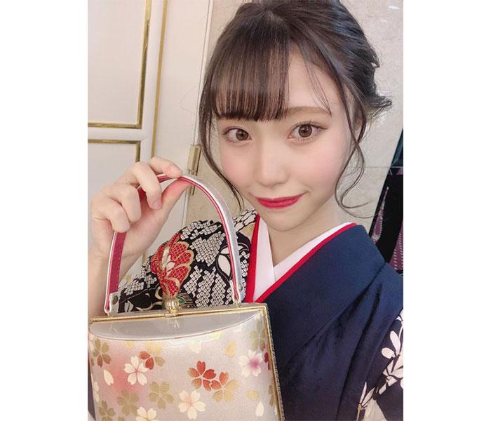 "NGT48 川越紗彩、大人の""美""を見せた振袖姿で抱負を述べる「新成人としての自覚をしっかりと」"